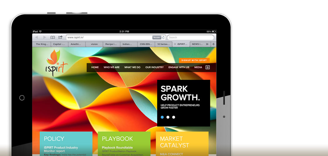 corporate identity responsive design content management